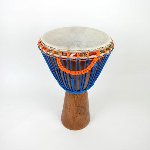 "13"" African Djembe Drum - Handmade in Mali - Dugura Wood"