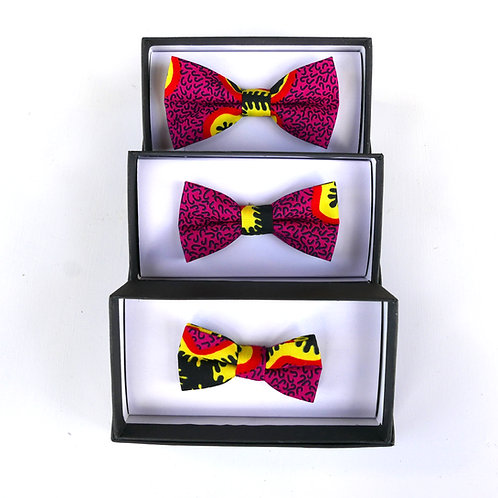 Pink Combo - 3 Bow Ties