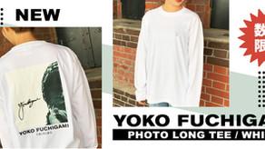 YOKO FUCHIGAMI フォトロンT/ WHITEが数量限定で発売開始!