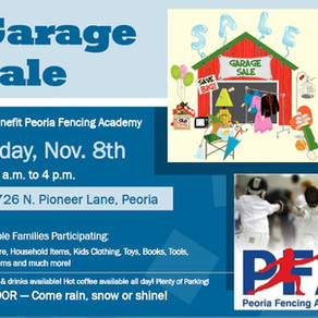 Garage Sale @ PFA