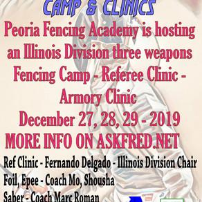 Illinois Winter Camp & Clinics In PFA