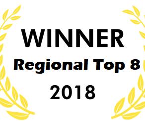 Winner Regional Top 8 Award 18-19