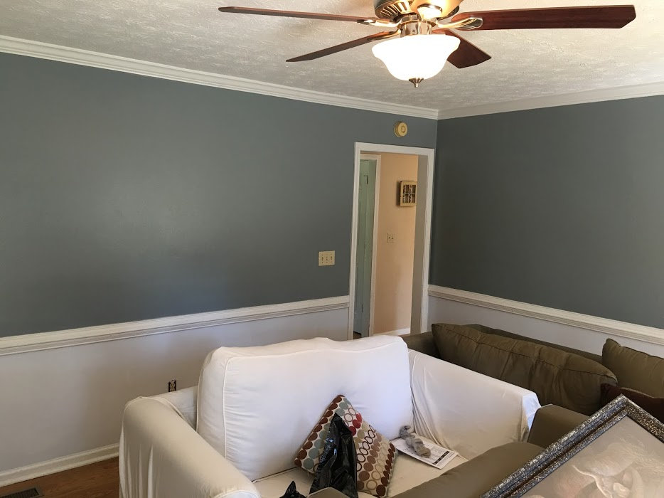 3 Room Painting Project