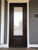 Exterior Door Stain