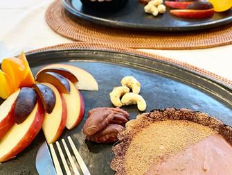 ロースイーツレッスン!始まりはローチョコレートケーキから♪