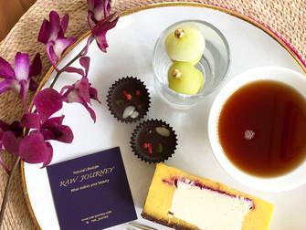 今月のロースイーツ「マンゴー&チーズケーキ」レッスン