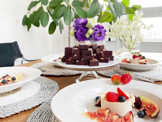 大好評ハート♡ローホワイトチョコレートケーキ
