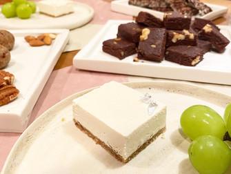 【全3回】ロースイーツは無限大、オリジナルローケーキを作ろう レッスンスタート!