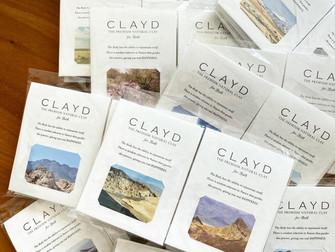 愛用している入浴剤!CLAYD様のオンラインコミニティにてロースイーツをレクチャー!
