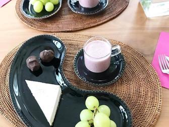 今月のロースイーツレッスン「ホワイトチョコレート」
