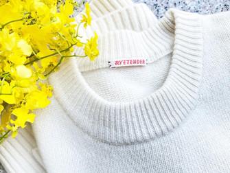 残糸をアップサイクルして作るセーターはあったか♡