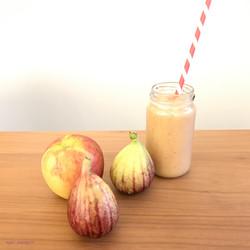smootheis/無花果と林檎、潤いスムージー胡瓜のクールスムージー