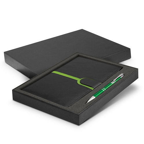 116693 Andorra Notebook and Pen Gift Set