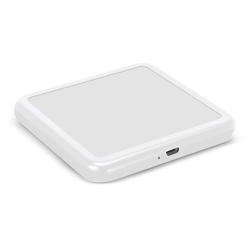 113420 Imperium Square Wireless Charger - Resin Finish