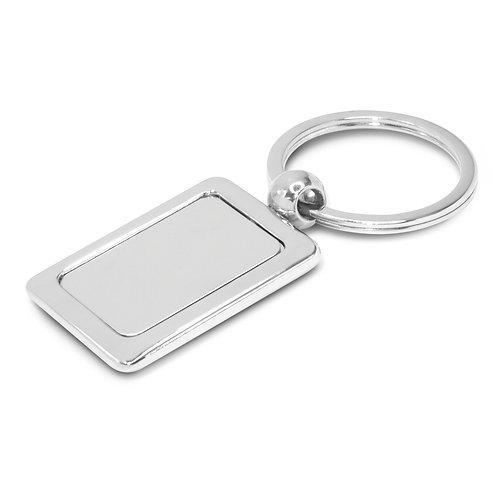 100316 Rectangular Metal Key Ring