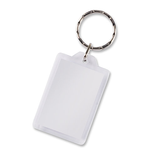 100292 Lens Key Ring - Rectangle