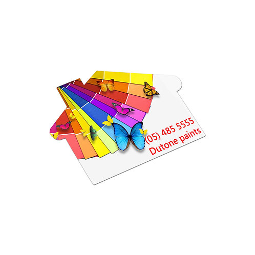 100113 AD Labels 70 x 50mm - House Shaped
