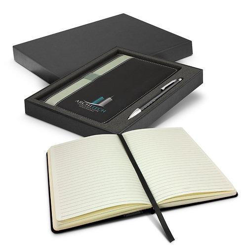 116695 Prescott Notebook and Pen Gift Set