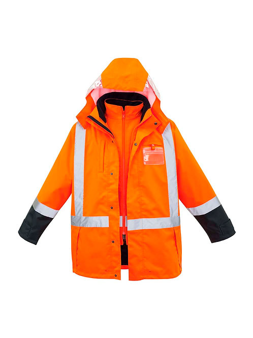 Syzmik Mens TTMC-W 4 in 1 Waterproof Jacket