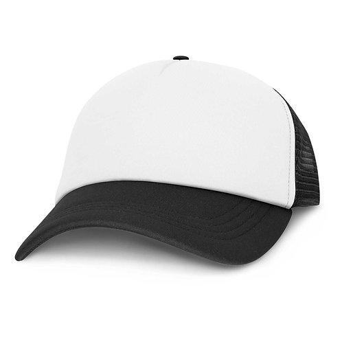 113032 Cruise Mesh Cap - White Front