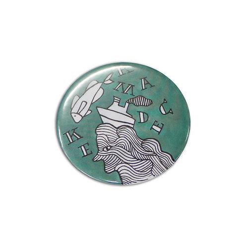 104780 Button Badge Round - 58mm