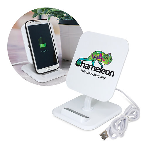 116030 Phaser Wireless Charging Stand - Square
