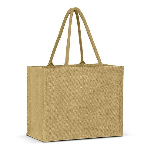 115325 Torino Jute Tote Bag - Colour Match