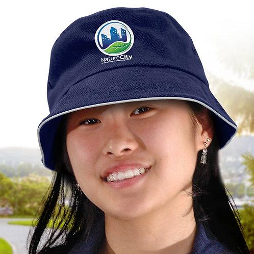 115740 Bondi Bucket Hat - White Sandwich Trim