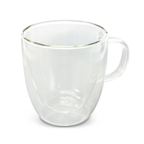 116579 Riviera Double Wall Glass Cup