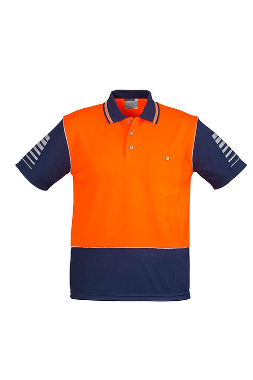 Syzmik Mens Hi Vis Zone Polo