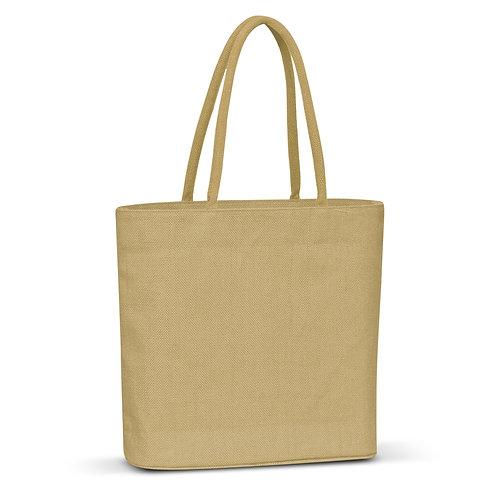 108035 Carrera Jute Tote Bag