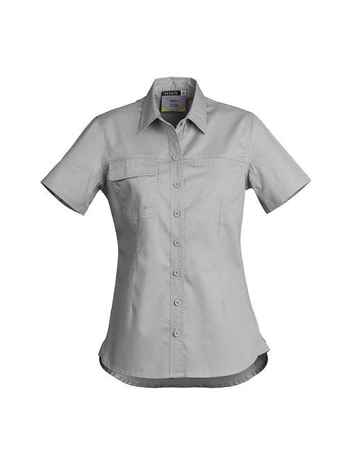 Syzmik Womens Lightweight Tradie S/S Shirt