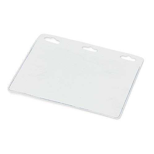 104921 Clear Vinyl ID Holder