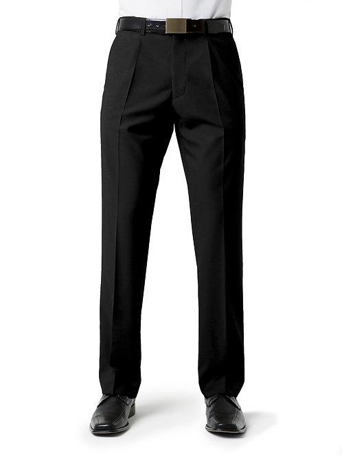 Mens Classic Pleat Front Pant
