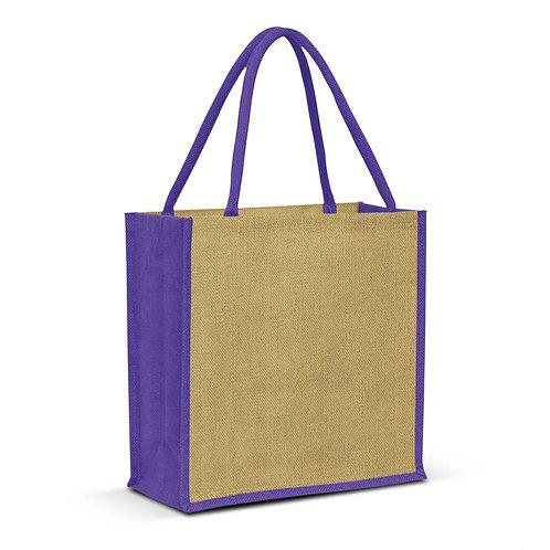 108037 Monza Jute Tote Bag