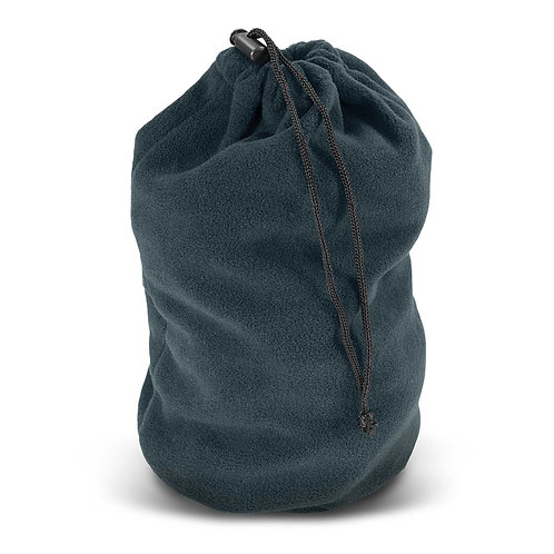 113672 Polar Fleece Drawstring Bag
