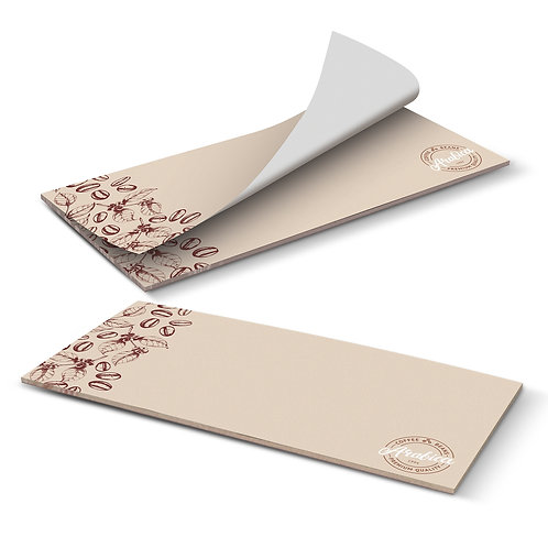 115830 DLE Horizontal Note Pad - 25 Leaves