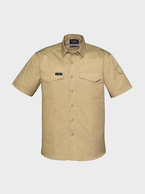 Syzmik Mens Rugged Cooling Mens S/S Shirt