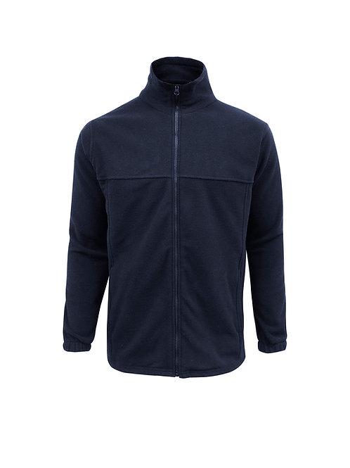 Mens Plain Micro Fleece Jacket