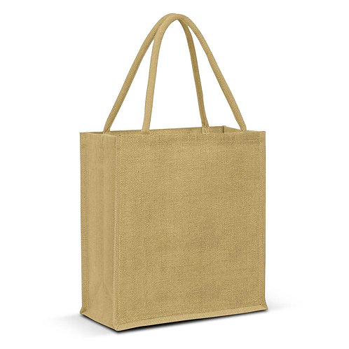 115326 Lanza Jute Tote Bag - Colour Match