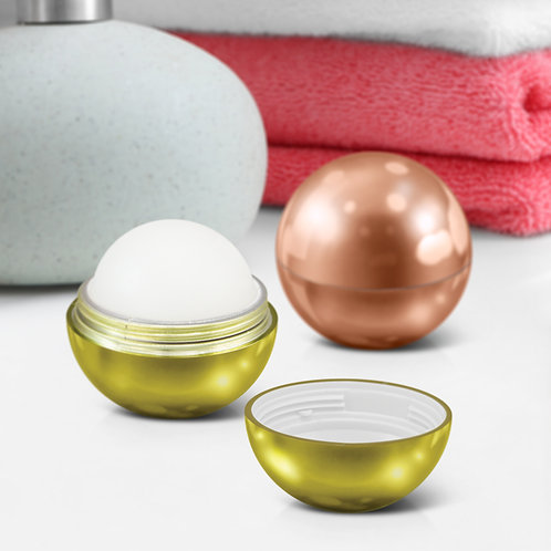 116904 Metallic Lip Balm Ball