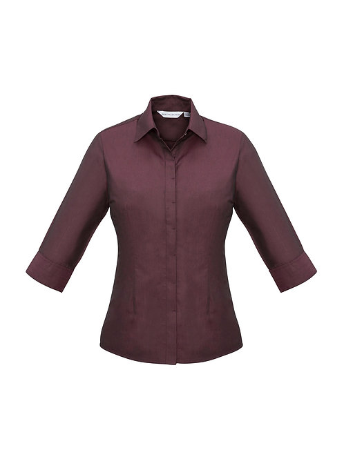 Ladies Hemingway 3/4 Sleeve Shirt