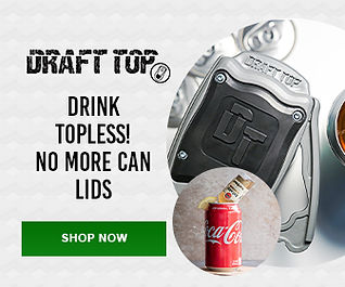 cut can top of and enjoy cool beverages