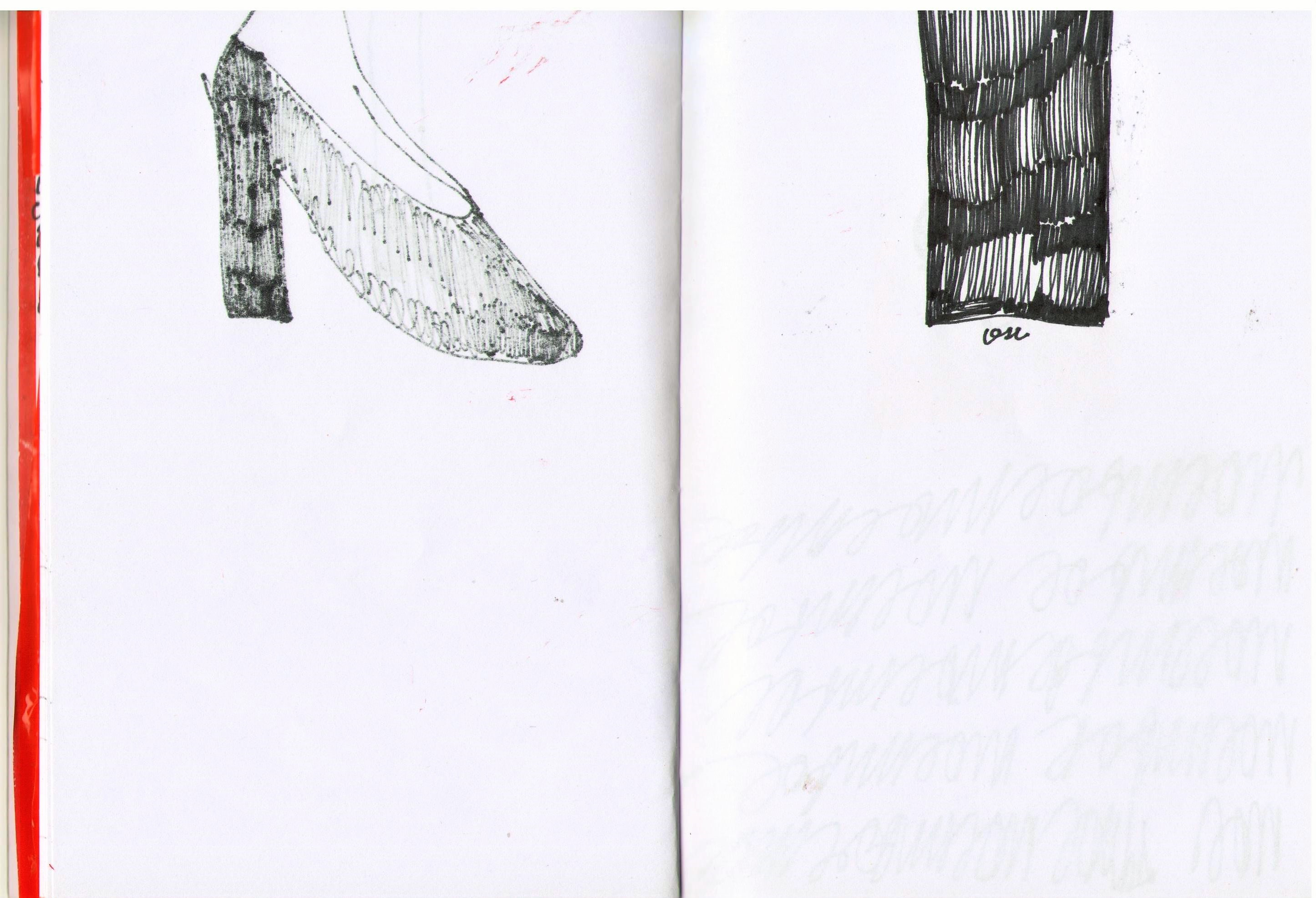Страница из графической книги «Тесно-книга», 2019