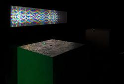 Тайный радар 2019 / интерактивная инсталляция 150x30cm