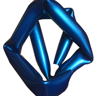 Bent Space Blue