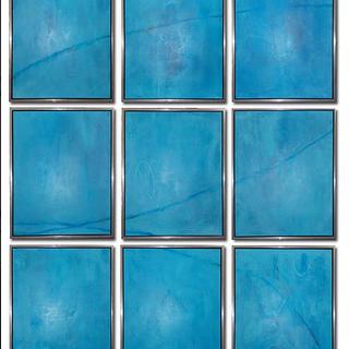 Beyond Blue 60x90_ _ 20x30_each Acrylic