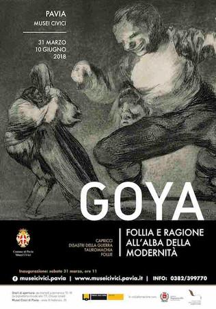 Find Goya in Pavia