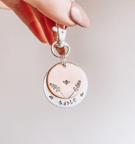 Meadow Double Layered Tag