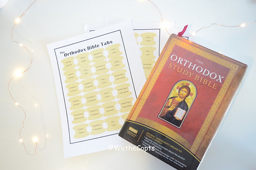 Orthodox Bible Tabs